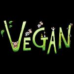 Vegan Schriftzug