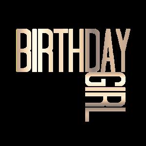 Birthday Girl Gold