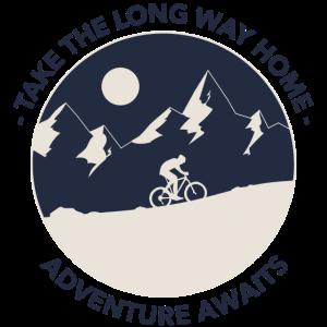 Fahrrad fahren Abenteuer Take the Long Way Home