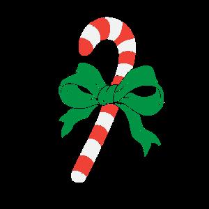 Frohe Weihnachten Zuckerstange