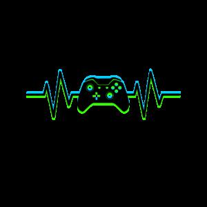 Herzschlag eines Gamers