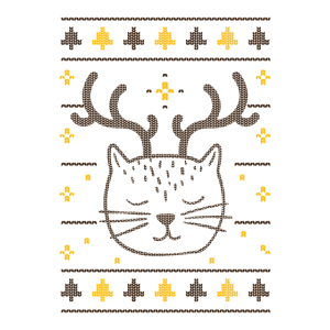 Weihnachts Shirts mit Katze Weihnachts dekor