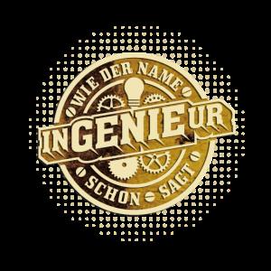 Ingenieur T Shirt Ingenieur = Genie