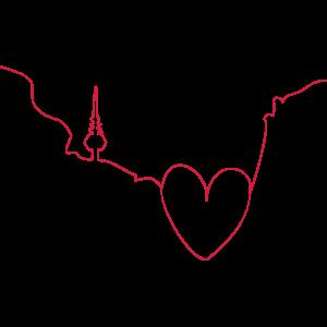 Herz für Monnem - Tribal Art Design