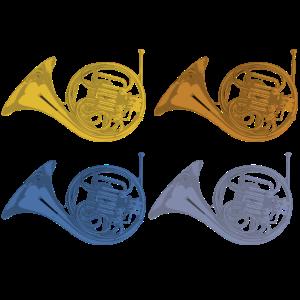 waldhorn horn geschenk