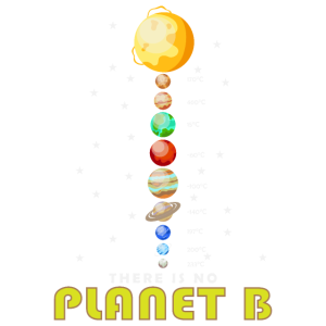 There is no Planet B Sonnensystem