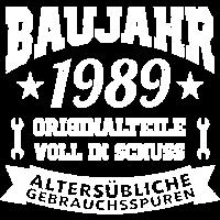 1989 Baujahr Geburtsjahr