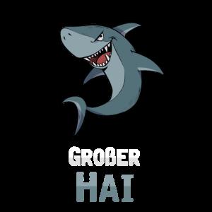 Großer Hai Cartoon