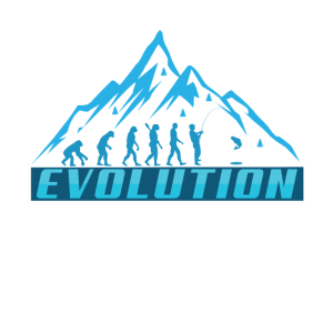 Evolution Eis Fischen Berg Eisberg Geschenk