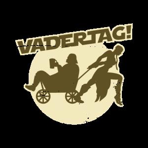 Vatertag T Shirt Bollerwagen & Bier
