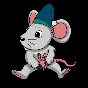 süße Baby Maus kleiner süßer Fratz