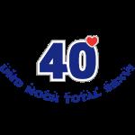 40 und total sexy 40. Geburtstag Happy Birthday