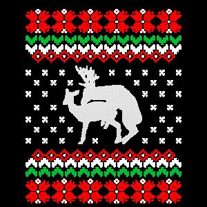 Ugly Christmas Lustig Weihnachten T-Shirt Geschenk