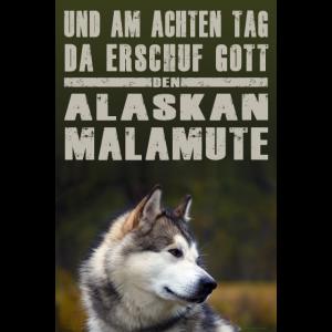 Poster der Alaskan Malamute