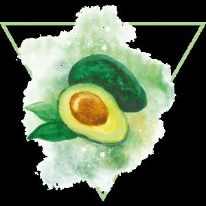 Avocado Tshirt Damen