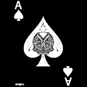 Pikass -graue Version- Die Schädel-Spieler