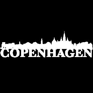 Copenhagen Dänemark Skyline Geschenk Idee