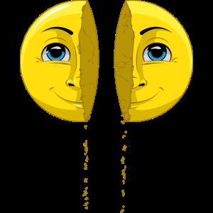Broken 3D-Emoji | Surreale Illustration