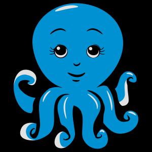 Tintenfisch oktopus süss