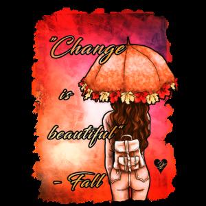 Goldener Herbstspruch | Yolo-Artwork