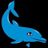 delfin süss schwimmen