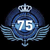 Geburtstag Jubiläum 75