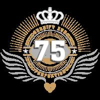 Jubiläum Geburtstag 75