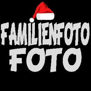 Familienfoto Weihnachten
