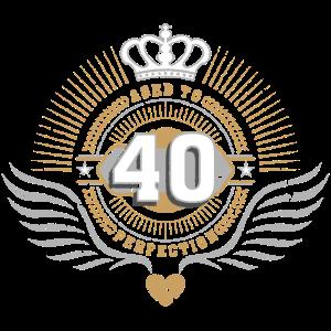 Jubiläum Geburtstag 40