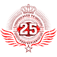 Geburtstag Jubiläum 25