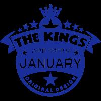junuary kings born birth month crown