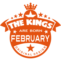 february kings born birth month crown