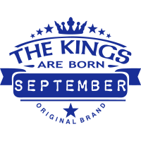september kings born birth month crown