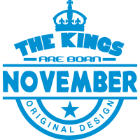 november kings born birth month crown
