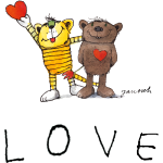 Janosch - Tiger und Bär 'Love' SP