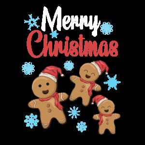 Merry Christmas Lebkuchen Frohe Weihnachten