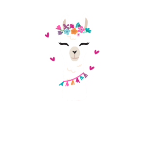 Mama Llama Funny Cute Mom Design
