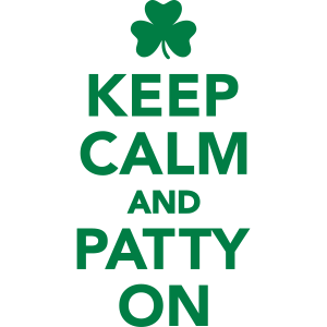 Keep calm patty on