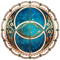 Vesica Piscis, Chalice Well, Avalon, Galaxy Magie