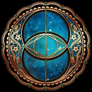 Vesica Piscis, Chalice Well, Avalon, Magie Symbol