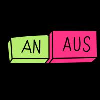 An / Aus Schalter