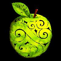 Swirly Apple