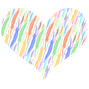 Federn und Herz