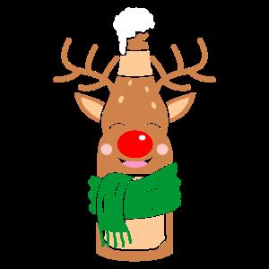 Christmas Beer Rendeer Bier Rentier Weihnachten