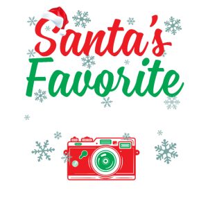 Santa's Favorite Photographer Funny Christmas