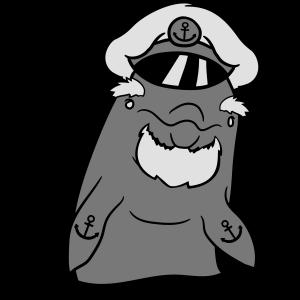 kapitän captain matrose seeman seebär chef hut ank