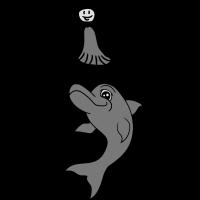 Girl child balancing stunt trick jumping delfin co