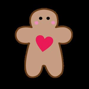 Lebkuchenmann Herz