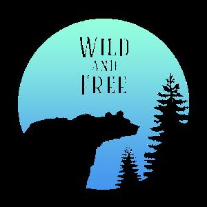 Wild and Free- Geschenk Idee