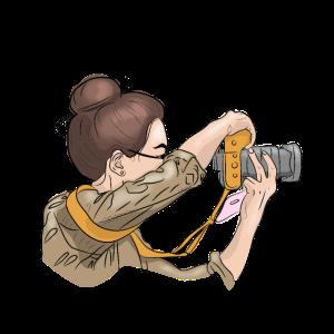 Fotograf, Kamera, Frau, Fotos